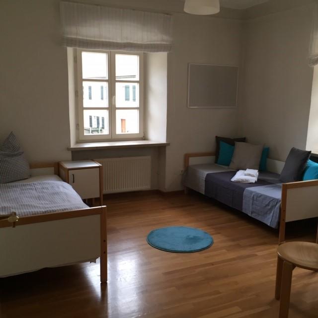 Zimmer in der Akademie